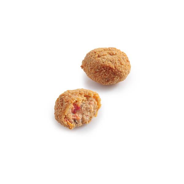 Tomato Croquettes Breaded