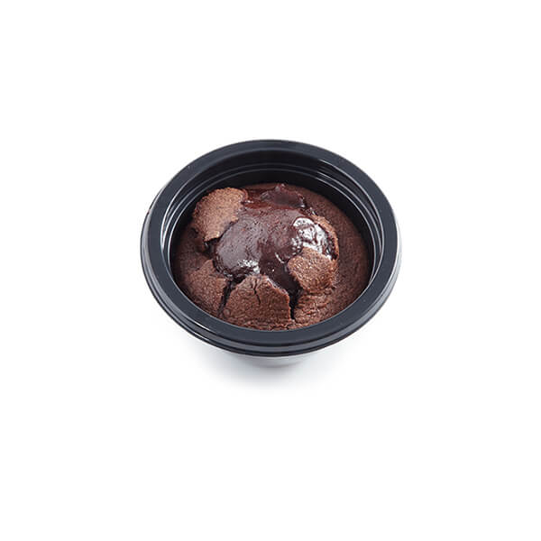 Bowl Chocolate Soufflet with Cover