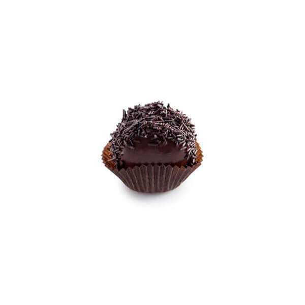 Κωκάκι διπλής σοκολάτας με τρούφα
