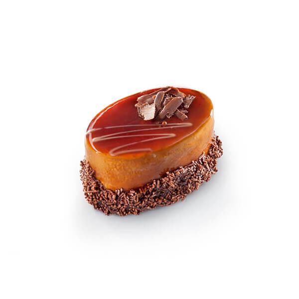 Cake Oval Mousse Caramel