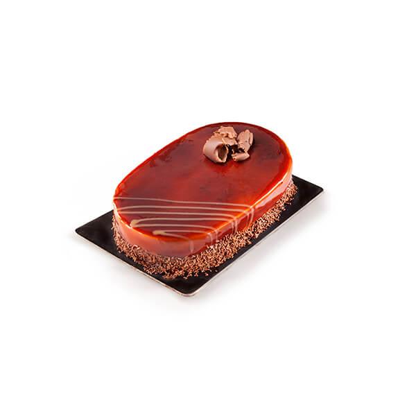 Caramel Cake Oval