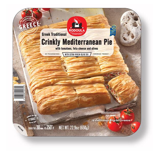 Greek Traditional Crinkly Mediterranean Pie 650g