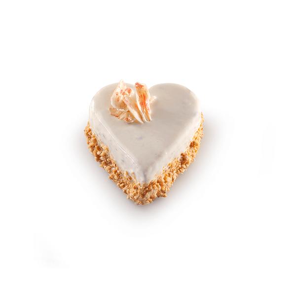 Almond Heart Cake