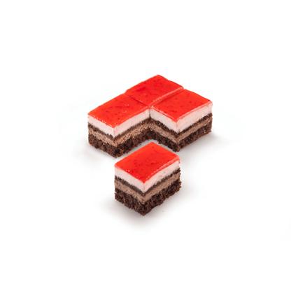 rodoula πλάκα σοκολάτα φράουλα