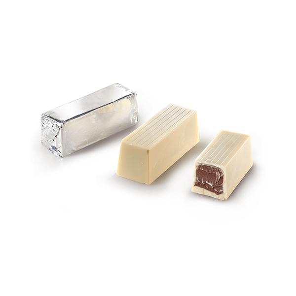 Σοκολατάκι Πραλίνα - Λευκή Σοκολάτα